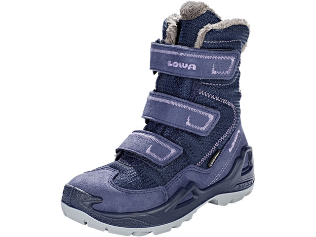 Lowa Milo GTX High Boots Kids, navy/purple